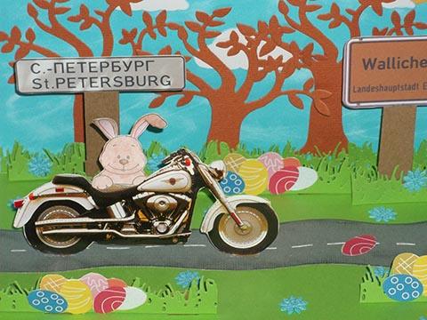 Biker Pop up Ostern 04