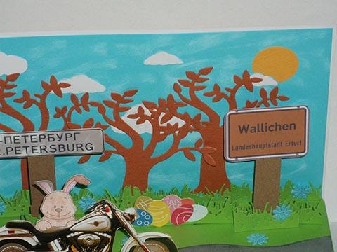 Biker Pop up Ostern 05