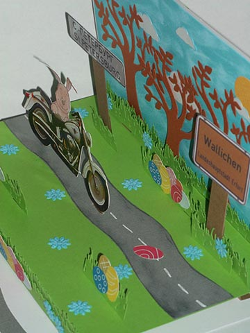 Biker Pop up Ostern 07