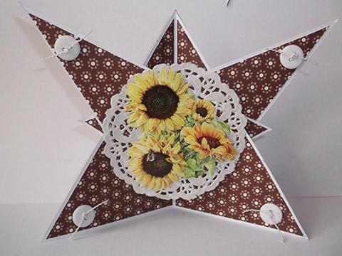 Kartentausch Sonnenblumen August 2013