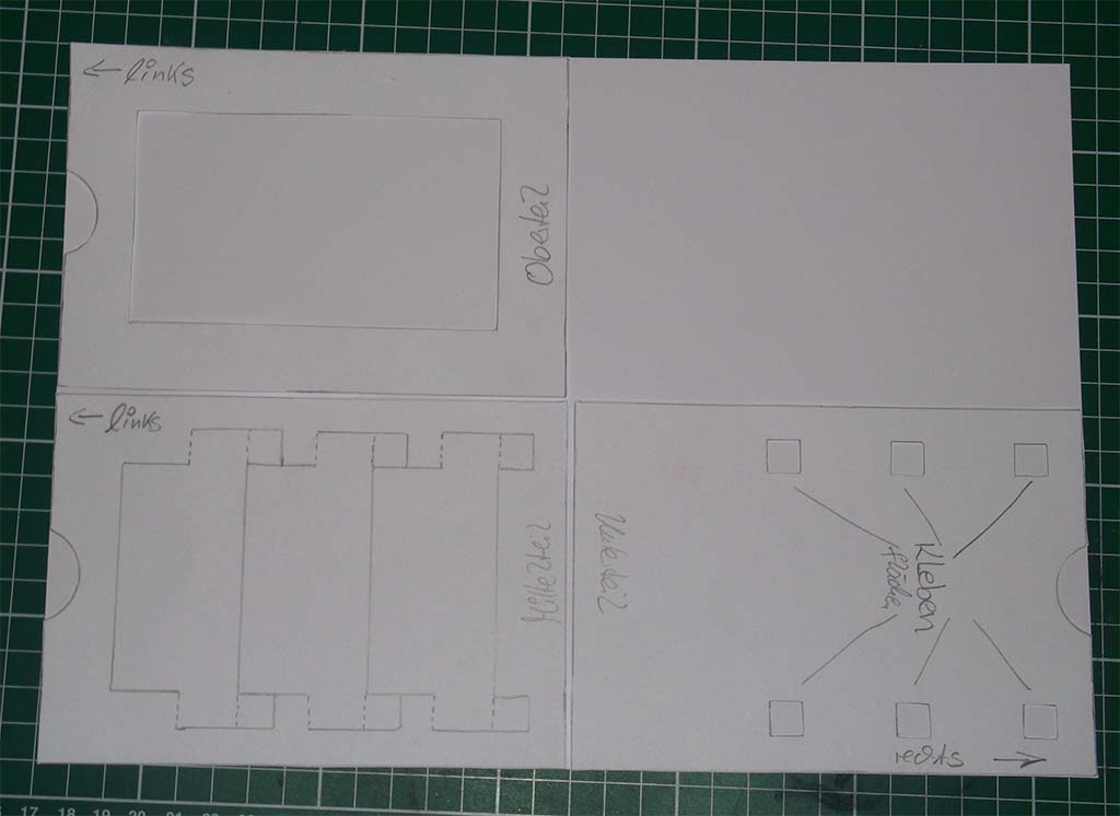 pop up karte mit drei fenstern bastelhexchen. Black Bedroom Furniture Sets. Home Design Ideas
